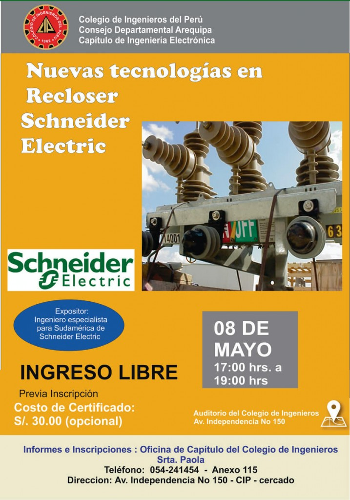 Capitulo ing. Electronica - martes 8 de Mayo - 17.00 hrs Recloser (C) (1) (1)