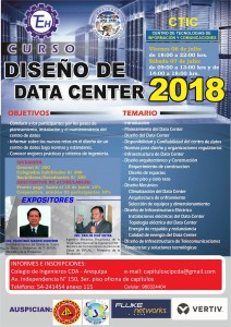 Diseño de Data Center | 06 y 07 Julio 2018