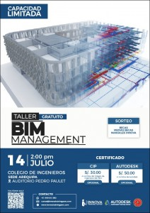 BIM MANAGEMENT | 14 Julio 2018