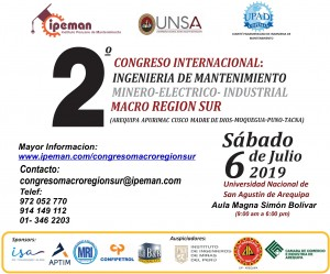2° Congreso Internacional | 06 Julio 2019